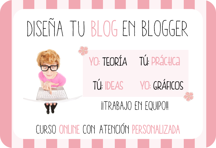 curso diseña tu blog en blogger