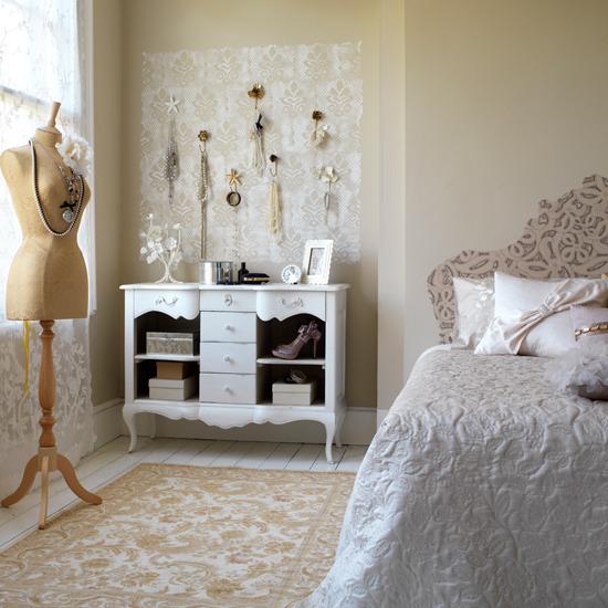 Inspire my house pretty: diy vintage bedroom ♥