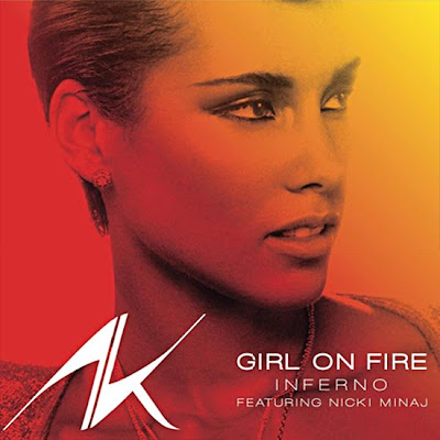 Photo Alicia Keys - Girl On Fire (feat. Nicki Minaj) Picture & Image