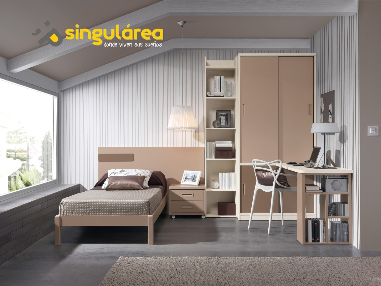 Diseno de dormitorios juveniles dise os arquitect nicos - Diseno de habitaciones juveniles ...