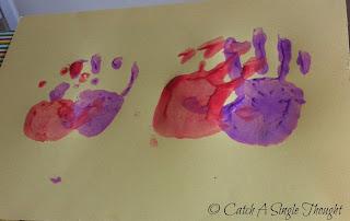 Let's Play: Handprint Hearts