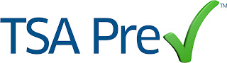 TSA Precheck logo.