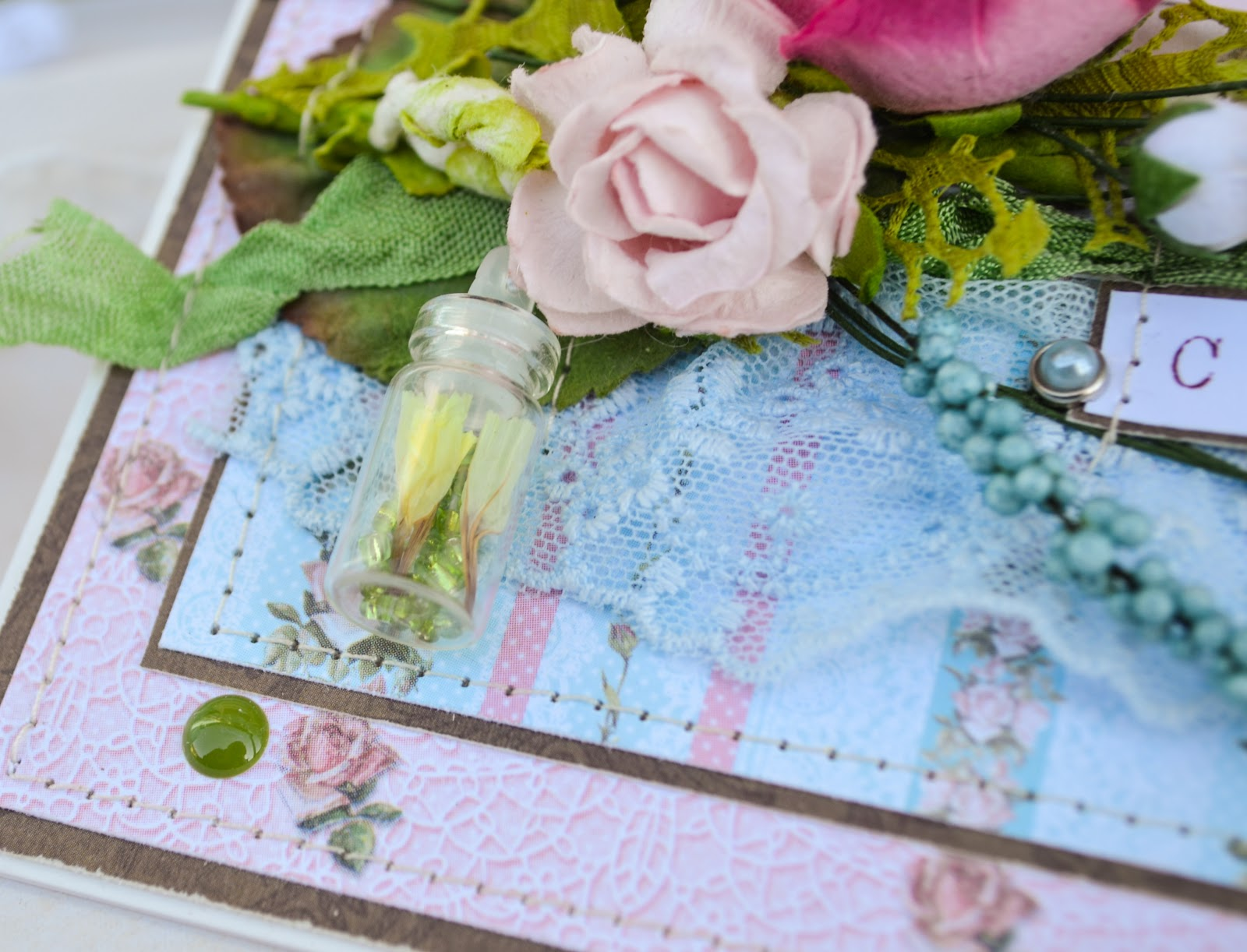 Открытки с сухими цветами 87