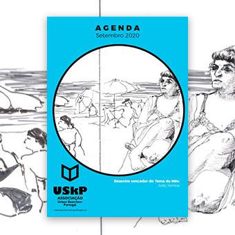 Sketch da capa - João Santos