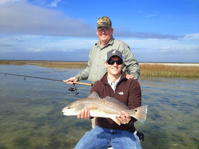 Myrtle beach fishing report cold weather hot redfish bite for Myrtle beach fishing report