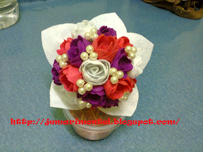 colorful flower for bride