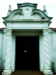 Entrada casa de San Martín, em Yapeyú.