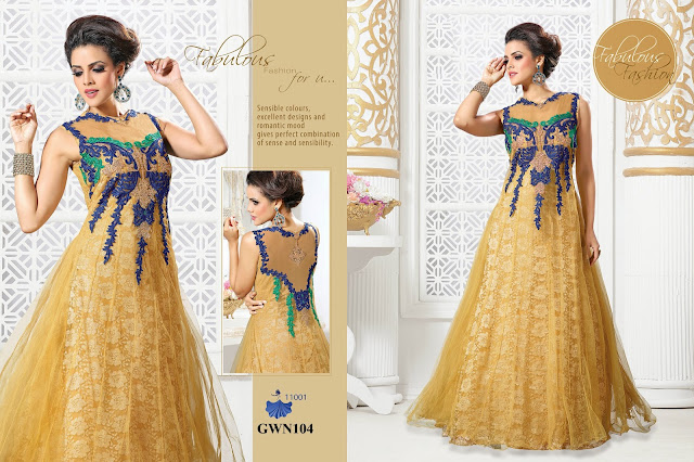 New Arrival Designer Stylish Gown – Wholesale