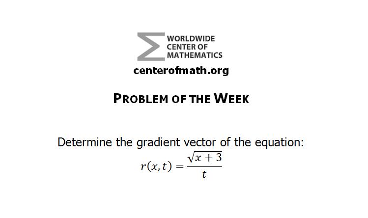 Problem of the Week (Week 2)