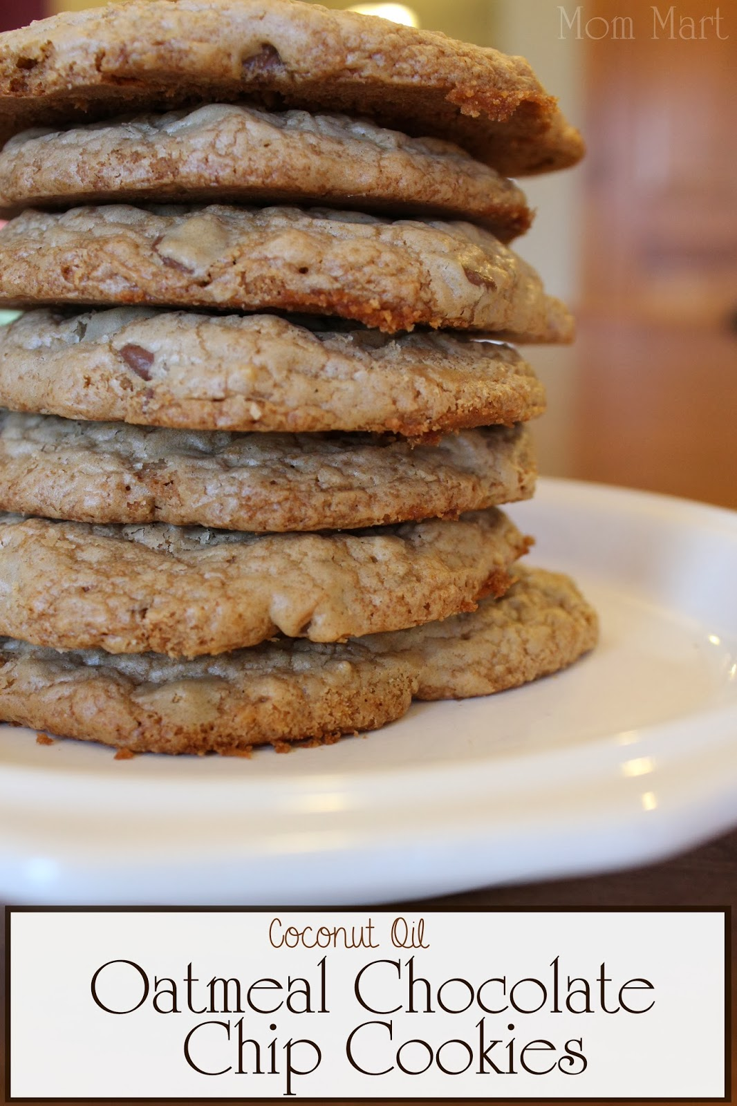 Oatmeal Chocolate Chip Cookies I Recipe — Dishmaps