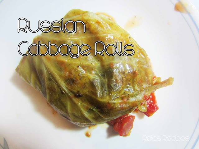 Russian Cabbage Rolls by Raia's Recipes
