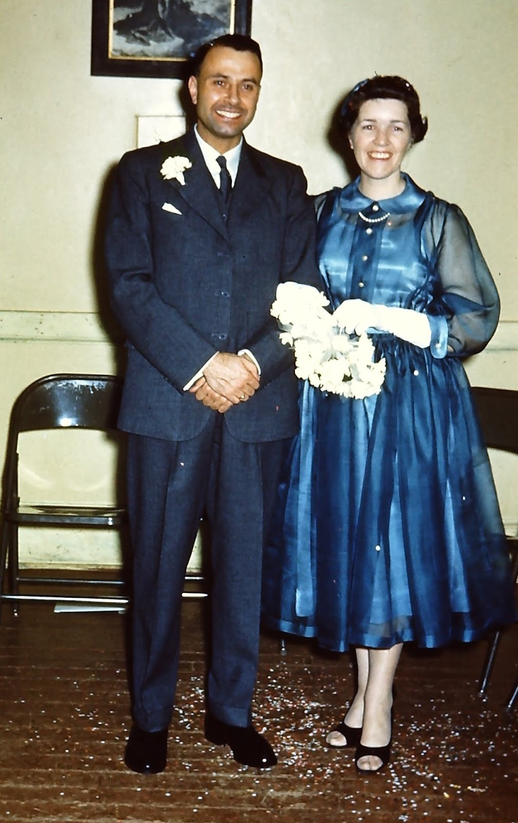 Joe & Violet (my dear parents)