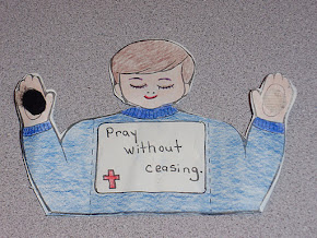 Front of Praying Boy Figure