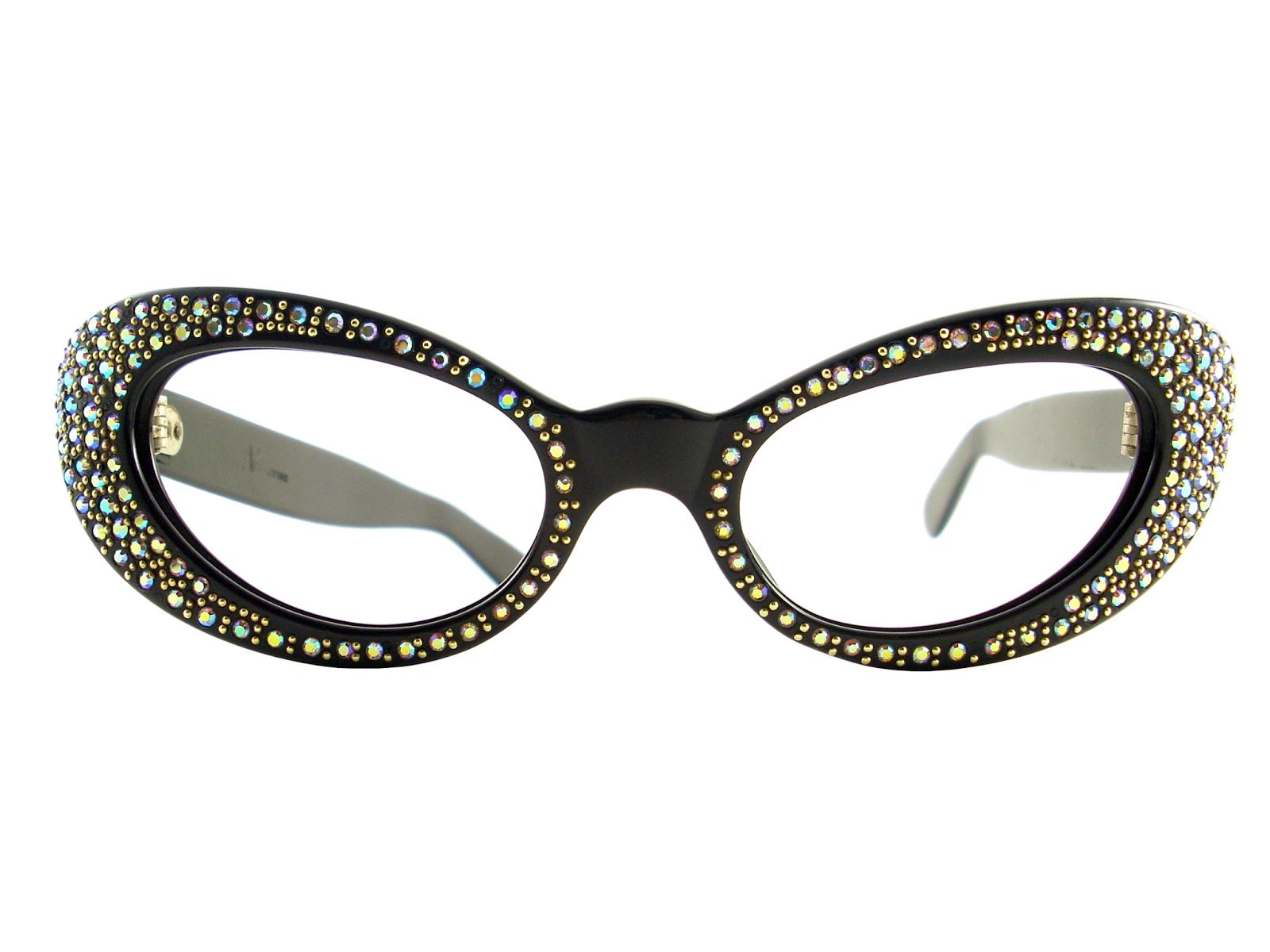 Cat Eye Frame Eye Glasses : Vintage Eyeglasses Frames Eyewear Sunglasses 50S: VINTAGE ...
