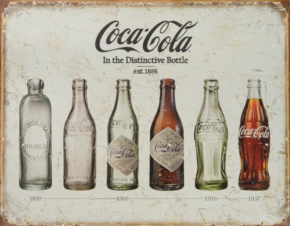 coca cola garrafas poster cartaz