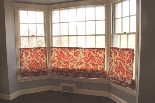 Bluet Clover DIY Roman Shades The NittyGritty