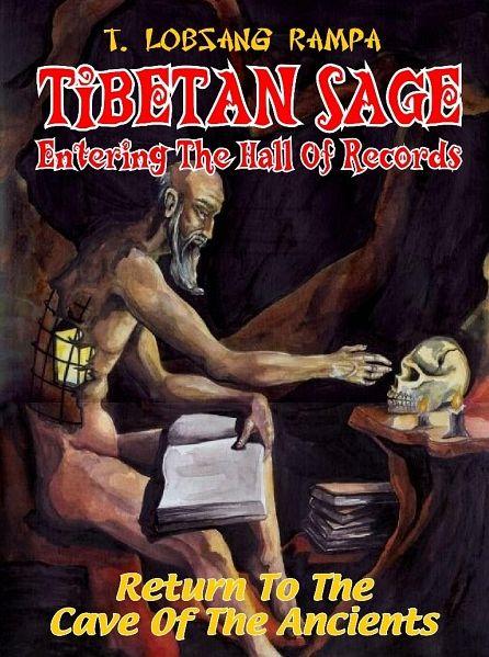 """Portada de la edición en ingles de """"El Sabio Tibetano"""" de Lobsang Rampa"""