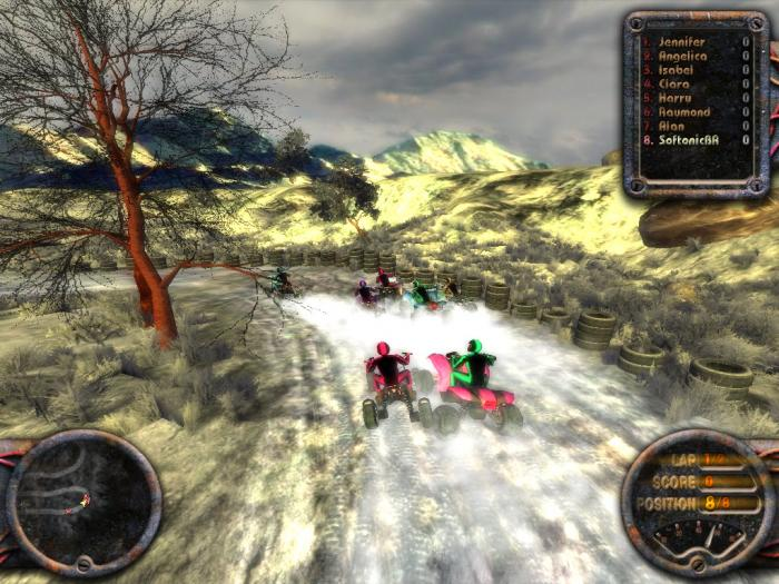 Quadro Racing ATV game quadriciclo