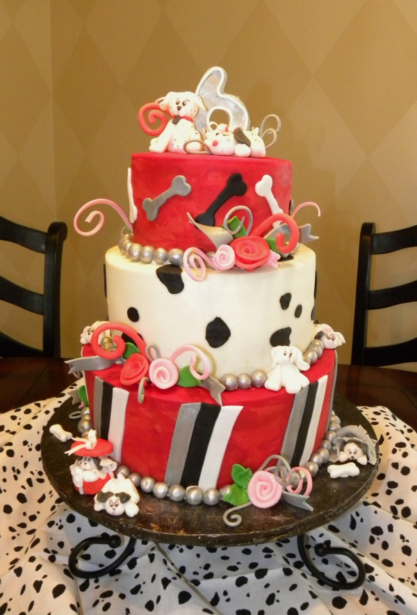 Dalmatian Birthday Cake from Cake Central