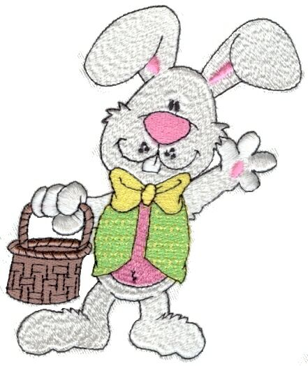 free clip art easter bunny. easter bunnies clip art free.
