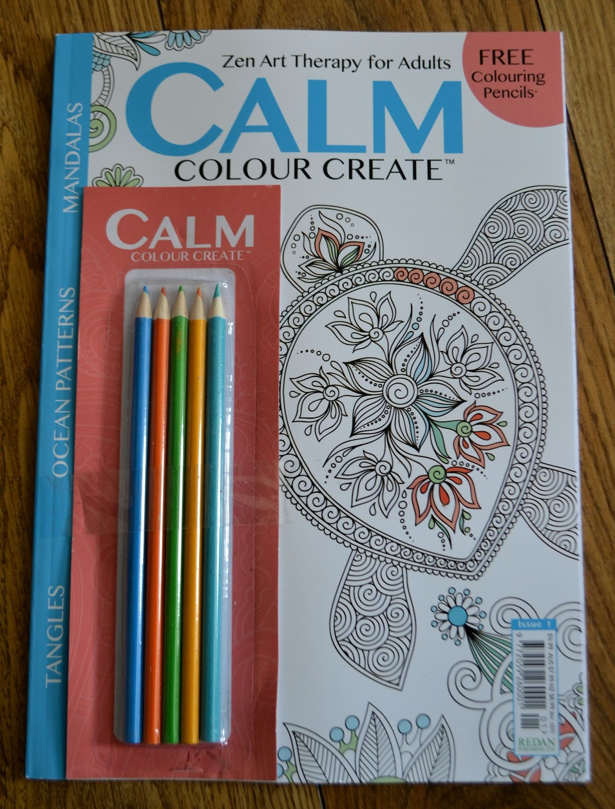 Colour zen review - Calm Colour Create Magazine Review Giveaway
