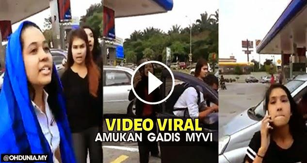 Video: Amukan gadis Myvi, Kes disiasat kerana ugutan jenayah - Polis