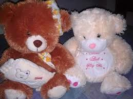 Boneka teddy bear berpasangan romantis