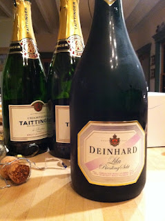 Champagne taste out of the ordinary for Deinhard wine