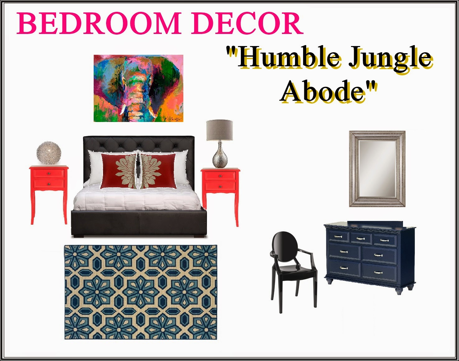 how to decorate a man's bedroom