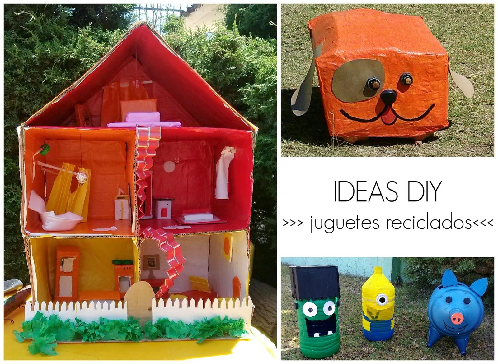 diy juguetes reciclados