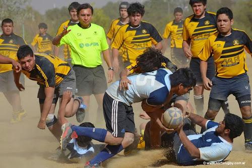 Curso para aspirantes a Referís del rugby desarrollo de Salta