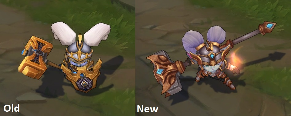 how to change regalia skin