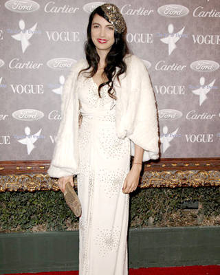 Shiva Rose at The Art of Elysium 10th Anniversary Gala