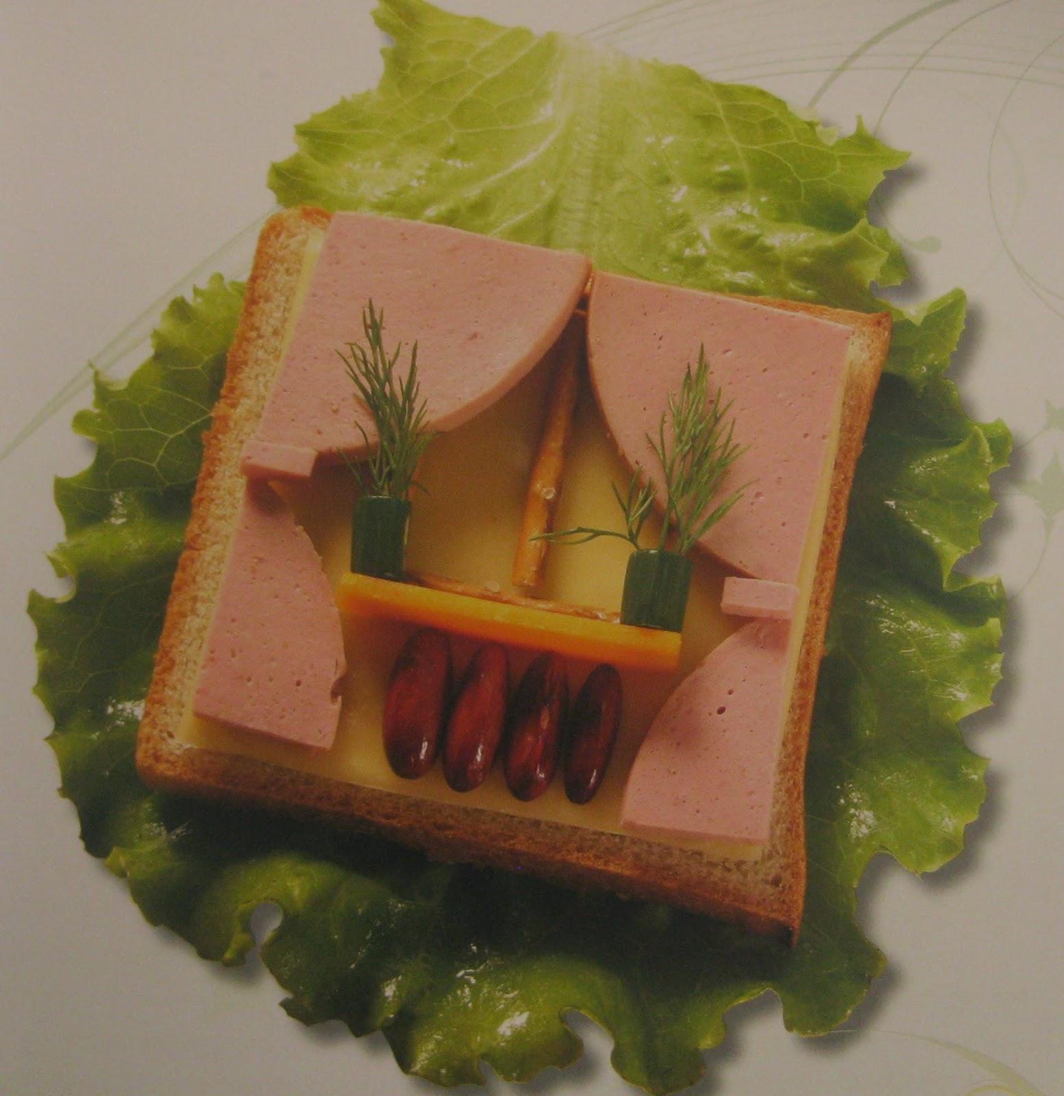 Sandwich Balcon, Bocadillos con Arte