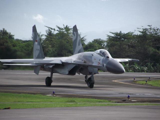Pesawat Tempur Sukhoi TNI AU