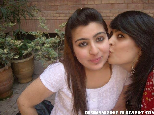 Desi Indian Girl Kissing In Home