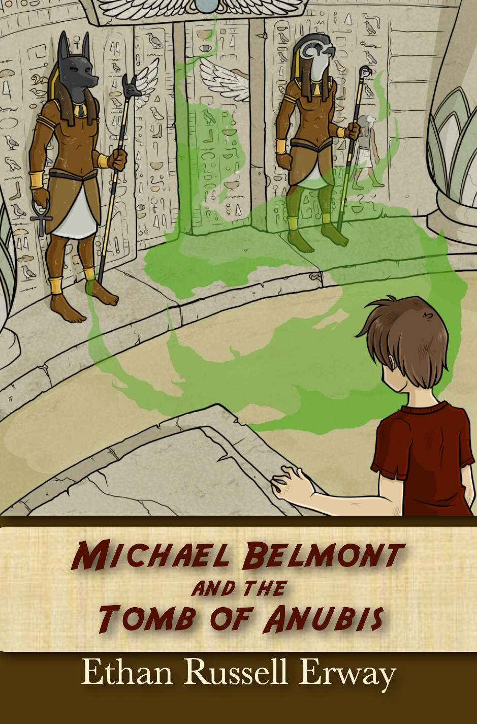 Michael Belmont and the Tomb of Anubis