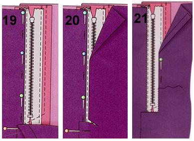 Сшить юбку прямую с подкладом