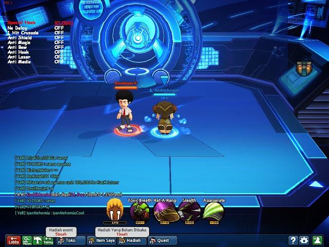 Lost Saga : Update LS Menu V2 Perbaikan 1 hit Crusade ,anti laser +no