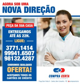 Farmácia Compra Certa - Saúde com Economia.