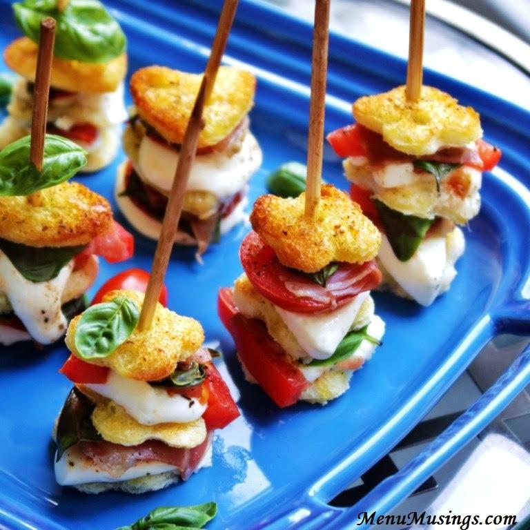 Mozzarella Caprese Skewers @ menumusings.com