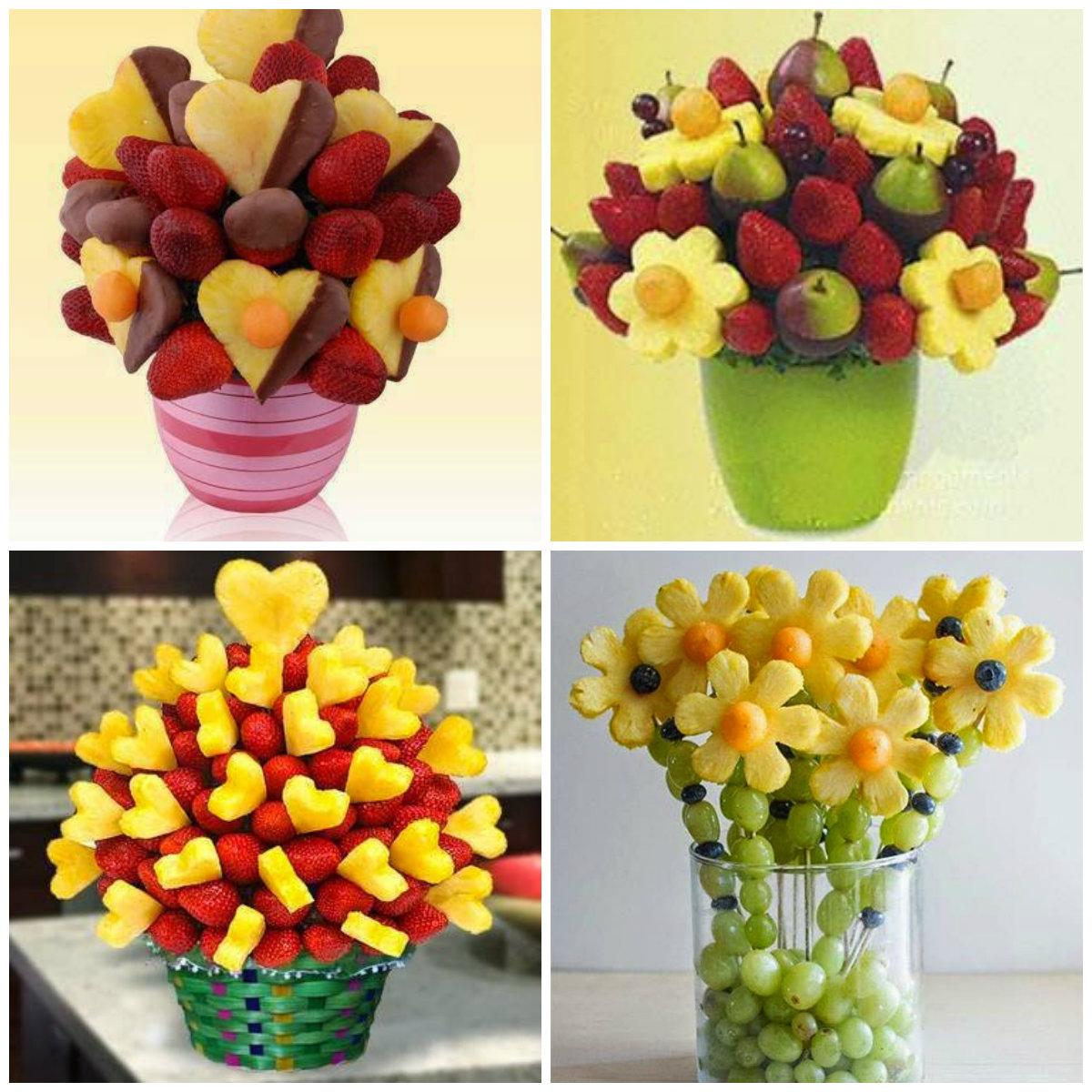15 Idéias de arranjos de frutas para decoraç u00e3o da mesa de natal Blog Casa e Decoraç u00e3o