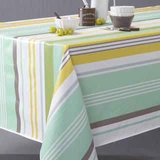 مفارش طاولة الطعام بألوان مشرقة ومبهجة