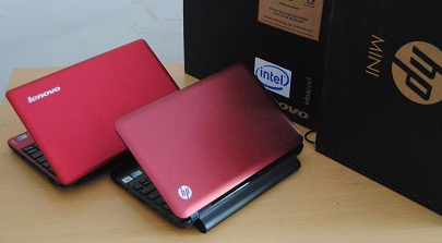 netbook second lenovo s100 dan hp mini