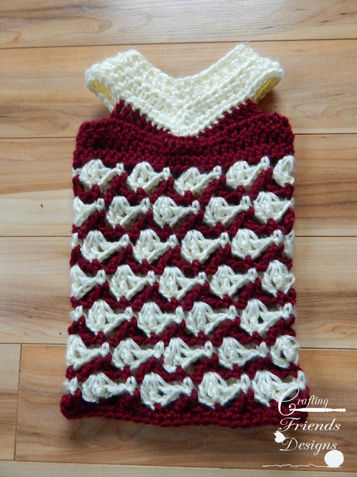 With All My Heart Dress crochet pattern