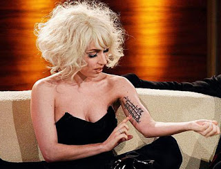Lady Gaga Tattoos Designs