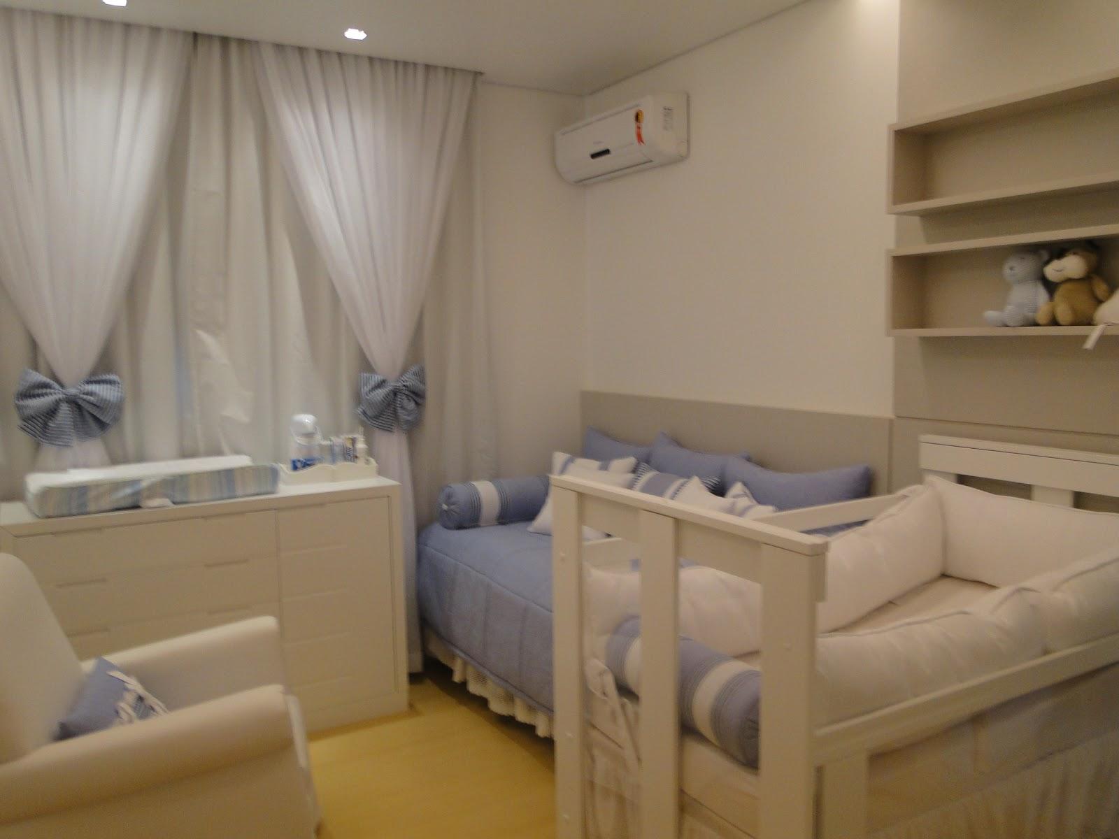 Studio Vanilla Baby QUARTO DE BEBÊ AZUL E BRANCO