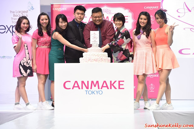 Tokyo Latest Makeup Trends, CANMAKE Tokyo, Canmake, Canmake 30th Anniversary, Beauty Expo 2015, kawaii look, Glossy Shinny, Colour Coordinate