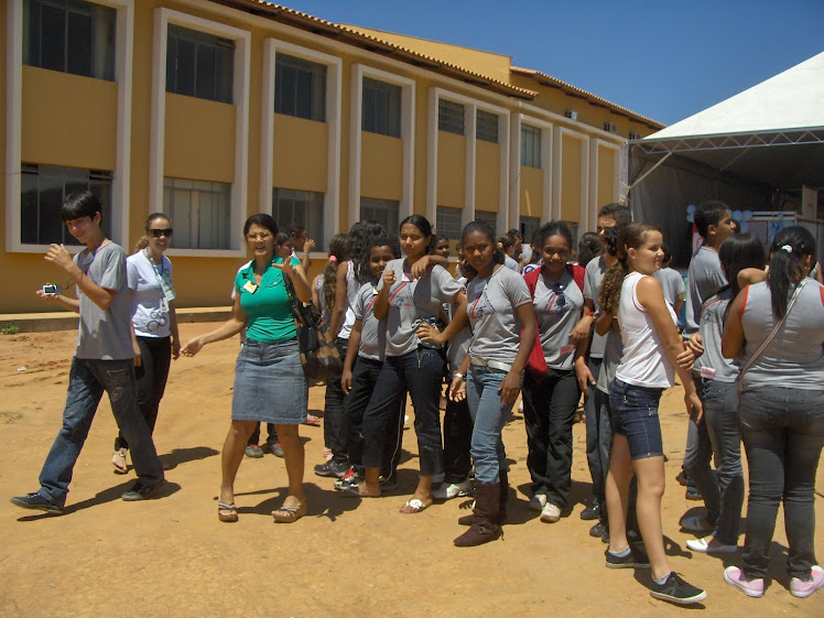 Visita a Feira de Ciências em Teofilo Otoni