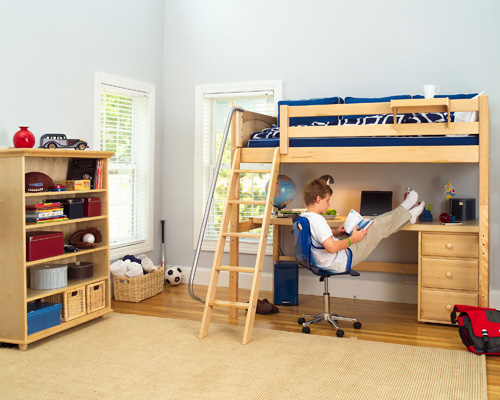 Lofted Bed Dorm Room Ideas Images & Pictures - Becuo